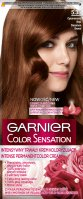 GARNIER - COLOR SENSATION - Permanent hair coloring cream - 5.35 Cinnamon Brown