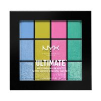 NYX Professional Makeup - ULTIMATE MULTI FINISH SHADOW PALETTE - 12 eyeshadows - 05 ELECTRIC