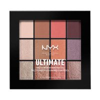 NYX Professional Makeup - ULTIMATE MULTI FINISH SHADOW PALETTE - 12 eyeshadows - 06 SUGAR HIGH