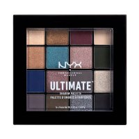 NYX Professional Makeup - ULTIMATE SHADOW PALETTE - Palette of 16 eyeshadows - 10 ASH