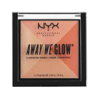 NYX Professional Makeup - AWAY WE GLOW - ILLUMINATING POWDER - Face highlighter