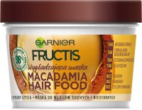 GARNIER - FRUCTIS - MACADAMIA HAIR FOOD MASK - Smoothing mask for dry and unruly hair - Macadamia