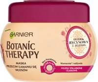 GARNIER - BOTANIC THERAPY MASK - Strengthening mask for weak and brittle hair - Castor Oil & Almond - 300 ml - WITHOUT FLUSHING