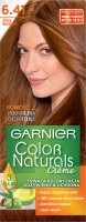 GARNIER - COLOR NATURALS Creme - Permanent, nourishing hair coloring - 6.41 Golden Amber