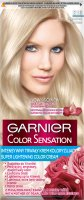 GARNIER - COLOR SENSATION - Permanent hair coloring cream - S10 Silver Blonde