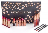 MAKEUP REVOLUTION - LIP REVOLUTION REDS - Set of cosmetics for lip makeup - REDS