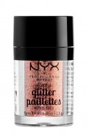 NYX Professional Makeup - Metallic Glitter Paillettes - Glitter for face and body - 01 DUBAI BRONZE - 01 DUBAI BRONZE