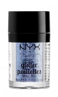 NYX Professional Makeup - Metallic Glitter Paillettes - Glitter for face and body - 02 DARKSIDE - 02 DARKSIDE