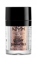 NYX Professional Makeup - Metallic Glitter Paillettes - Glitter for face and body - 04  GOLDSTONE - 04  GOLDSTONE