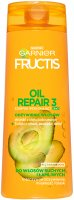 GARNIER - FRUCTIS - OIL REPAIR 3 - Strengthening shampoo for dry and brittle hair 2in1 - 400 ml