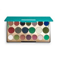 MAKEUP REVOLUTION - PRECIOUS STONE - SHADOW PALETTE - 20 eyeshadows - EMERALD