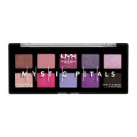 NYX Professional Makeup - MYSTIC PETALS - SHADOW PALETTE - 10 eyeshadows - MIDNIGHT ORCHID