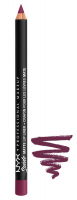 NYX Professional Makeup - SUEDE MATTE LIP LINER - GIRL, BYE - GIRL, BYE