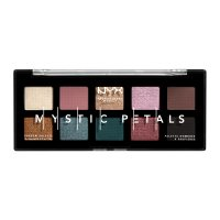 NYX Professional Makeup - MYSTIC PETALS - SHADOW PALETTE - 10 eye shadows - DARK MYSTIC
