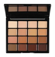 NYX Professional Makeup - PRO FOUNDATION PALETTE - A palette of 16 cream foundations