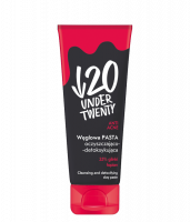 UNDER TWENTY - ANTI ACNE - Charcoal cleansing and detoxifying clay face paste - 75 ml