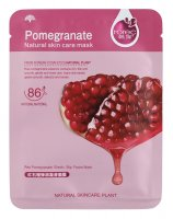 Rorec - Pomegranate Natural Skin Care Mask - Moisturizing sheet face mask with berry extract