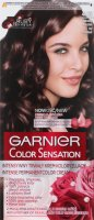 GARNIER - COLOR SENSATION - Permanent hair color cream - 4.15 Icy Chestnut