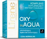 Lirene - OXY in AQUA - Rejuvenating oxygenating hydro-gel for normal skin - Night - 50 ml