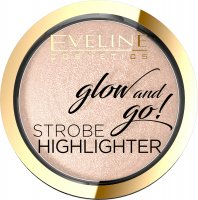 EVELINE COSMETICS - Glow and Go! Strobe Highlighter - Baked face highlighter