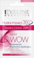 EVELINE - Hydra Impact 360 - Express moisturizing mask - Dry and sensitive skin - 7 ml
