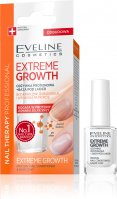 Eveline Cosmetics - NAIL THERAPY PROFESSIONAL - EXTREME GROWTH - Protein supplement + Nail polish base - 12 ml
