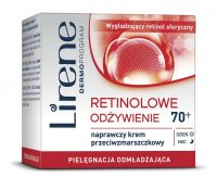 Lirene - NOURISHING 70+ Repair anti-wrinkle cream - 70 + Lirene - Retinol Nutrition