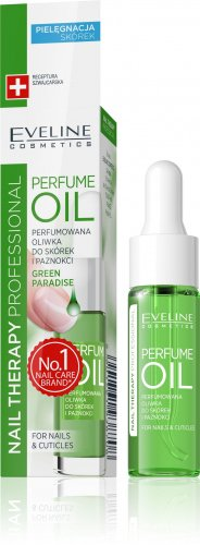 EVELINE - PERFUME OIL - Perfumed cuticle and nail oil - GREEN PARADISE