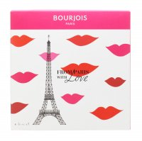 Bourjois - FROM PARIS WITH LOVE - Gift set with face make-up cosmetics - Mascara + Lipstick