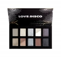 NYX Professional Makeup - LOVE LUST DISCO - SHADOW PALETTE - 10 eye shadows - 02 MISS ROBOT