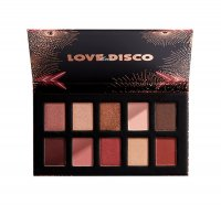 NYX Professional Makeup - LOVE LUST DISCO - SHADOW PALETTE - 10 eyeshadows - 03 ROSE AND PLAY