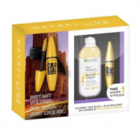 MAYBELLINE - Gift set of cosmetics - The Colossal Ink + Micellar Liquid with Oil by Garnier