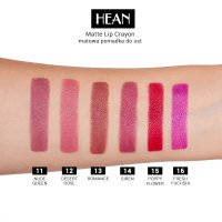 HEAN - Matte Lip Crayon - Matte lipstick in pencil with sharpener