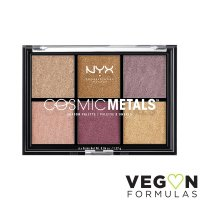 NYX Professional Makeup - COSMIC METALS SHADOW PALETTE