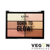 NYX Professional Makeup - BORN TO GLOW! - HIGHLIGHTING PALETTE