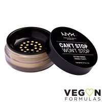 NYX Professional Makeup - CAN'T STOP WON'T STOP - SETTING POWDER - Fixing face powder