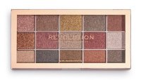 MAKEUP REVOLUTION - FOIL FRENZY EYESHADOW PALETTE - Palette of 15 foil eye shadows - FUSION