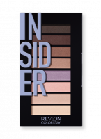 Revlon - LOOKS BOOK PALETTE - Mini eye shadow palette - 940 INSIDER