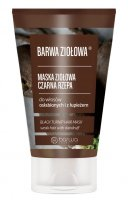 COLOR - BARWA ZIOŁOWA - Herbal mask for weak hair and with dandruff - Black Turnip
