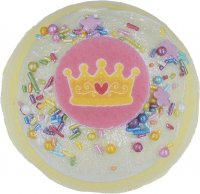 Bomb Cosmetics - Crowning Glory - Sparkling bath ball - ROYAL