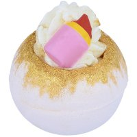 Bomb Cosmetics - A Little Lippie - Effervescent bath ball - LIPSTICK