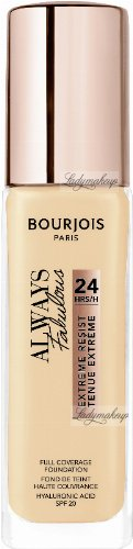 Bourjois - ALWAYS FABULOUS 24H FULL COVERAGE FOUNDATION - Covering foundation