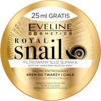 EVELINE COSMETICS - ROYAL SNAIL - Concentrated face and body cream with snail mucus - 200 ml