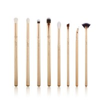 JESSUP - Classics Series Brushes Set - Set of 8 make-up brushes - T417 Golden / Rose Gold