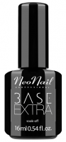NeoNail - EXTRA SOAK-OFF BASE - 16 ml - Hybrid Varnish UV - 7478