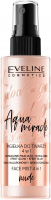 Eveline Cosmetics - Glow and Go Aqua Miracle - 4in1 face mist - Nude