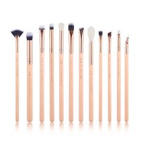 JESSUP - Classics Chrysalid Brushes Set - Set of 12 make-up brushes - T448 Peach Puff / Rose Gold