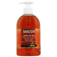 BINGOSPA - Foot Soap - Soap for feet with a tendency to ringworm and cracking of the epidermis - 500 ml