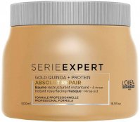 L'Oréal Professionnel - SERIES EXPERT - ABSOLUT REPAIR - GOLD QUINOA + PROTEIN - Rebuilding mask for badly damaged hair - 500 ml