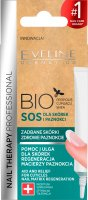 Eveline Cosmetics - NAIL THERAPY PROFESSIONAL - BIO SOS - Treatment for dry, damaged cuticles and brittle nails - 12 ml